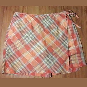 Lizgolf Plaid Skort/Skirt/Shorts Size 18